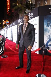 Adewale Akinnuoye-Agbaje who plays Algrim and Kurse in Thor The Dark World