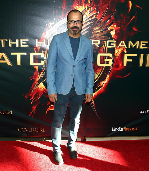 Jeffrey Wright at the premiere of Hunger Games