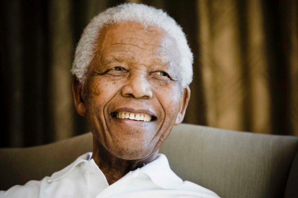 A-portrait-of-Nelson-Mandela-in-March-2013