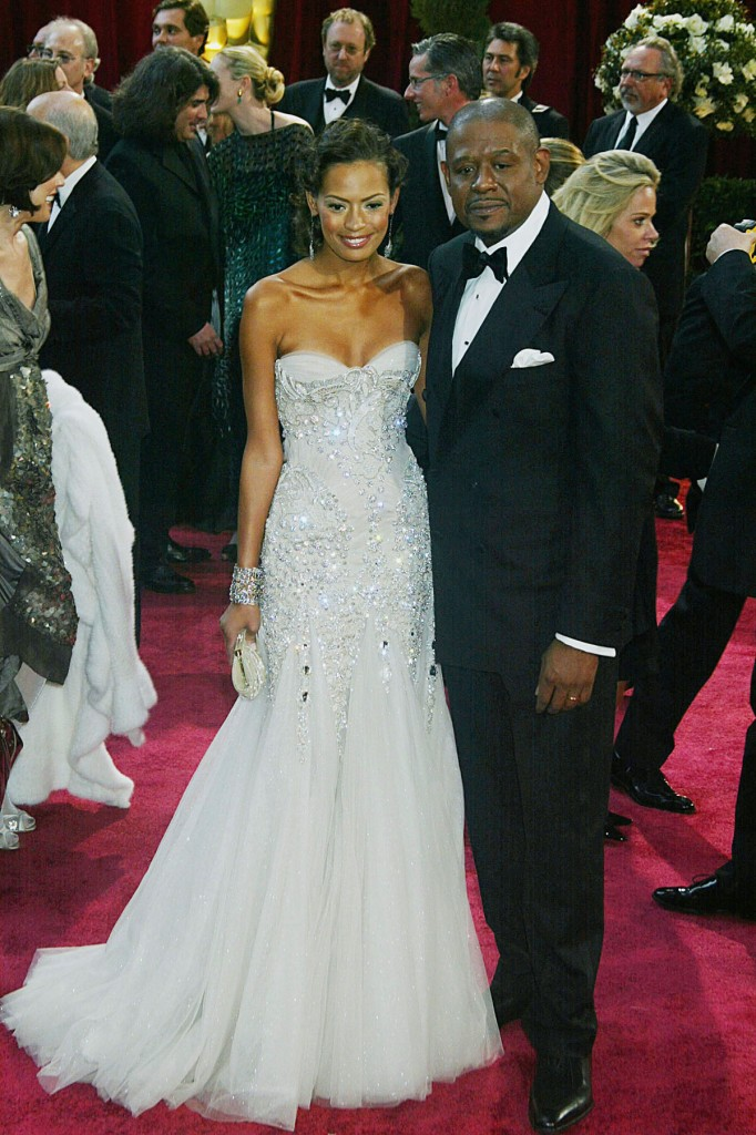 Forest Whitaker & wife, Keisha