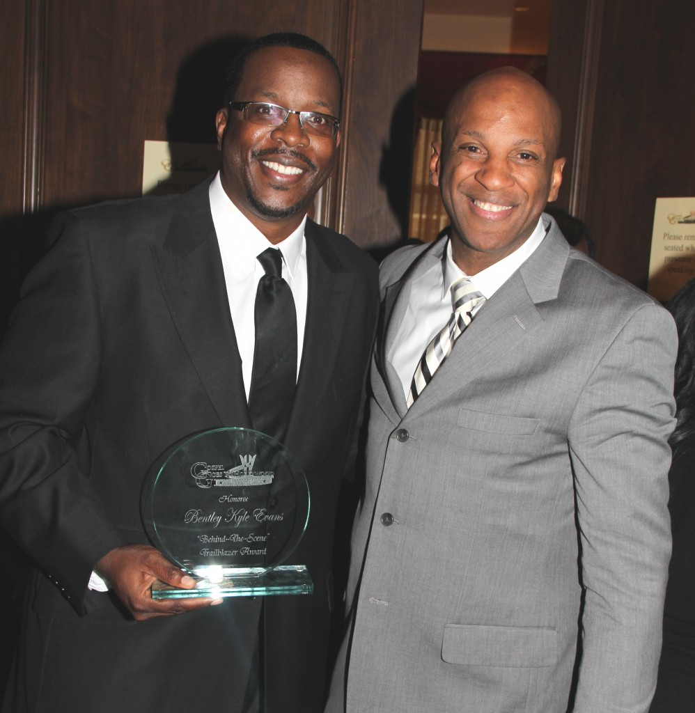 Bentley Kyle Evans and Donnie McClurkin - pgoto by Royalty Image