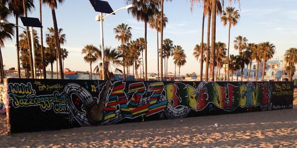 The Writing on the Wall, Venice Beach L.A - JazzReggae Festival