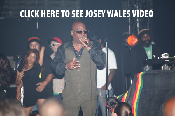 Josey Wales video of his performance at the Dub Club.