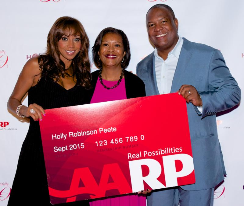 Holly Robinson Roman Peete Holly Robinson Peete