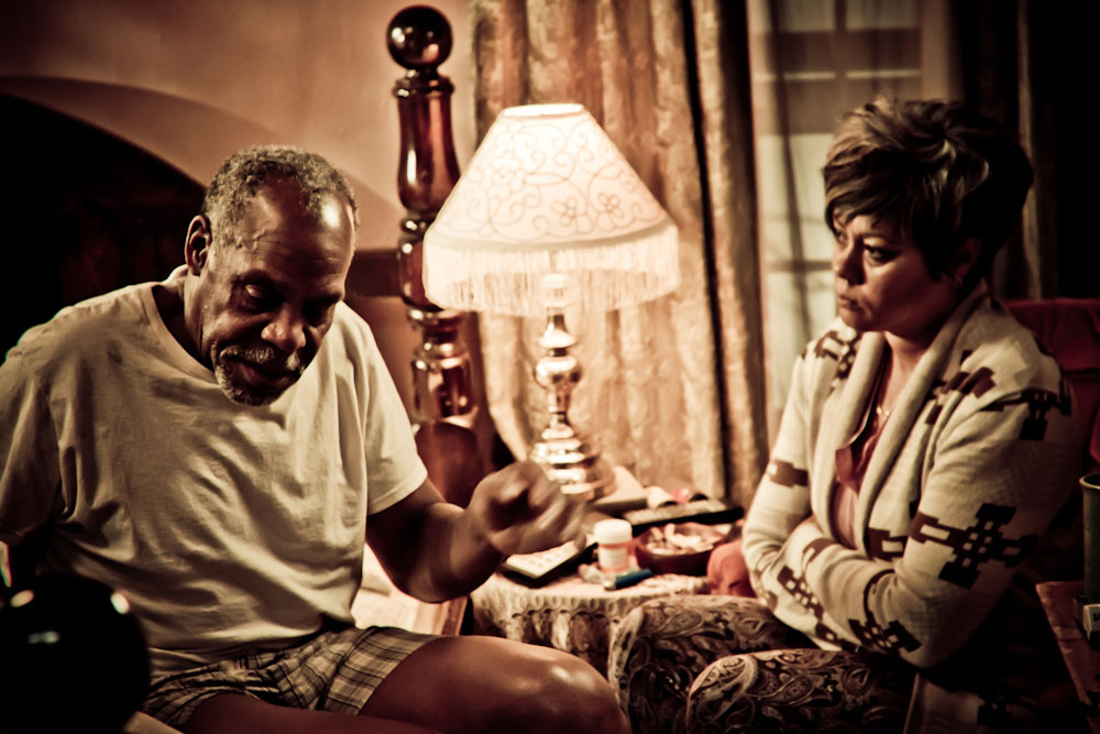Danny Glover and Lela Rochon in Supremacy