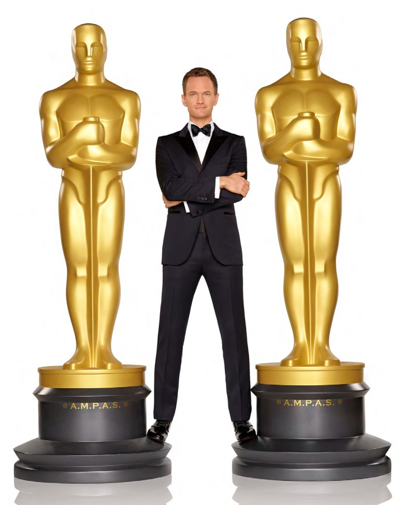 Oscar host Neil Patrick Harris - photo by Bob D'Amico