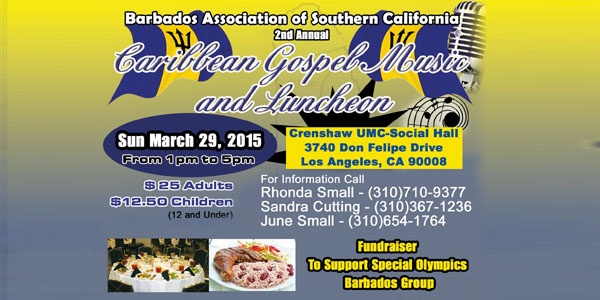 BASC 2nd Annual Caribbean Gospel Music & Luncheon