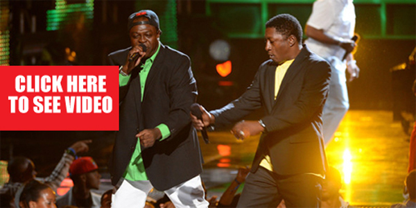 Chaka Demus and Pliers performing at the 2013 BET Awards