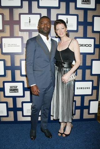 David Oyelowo and wife Jessica
