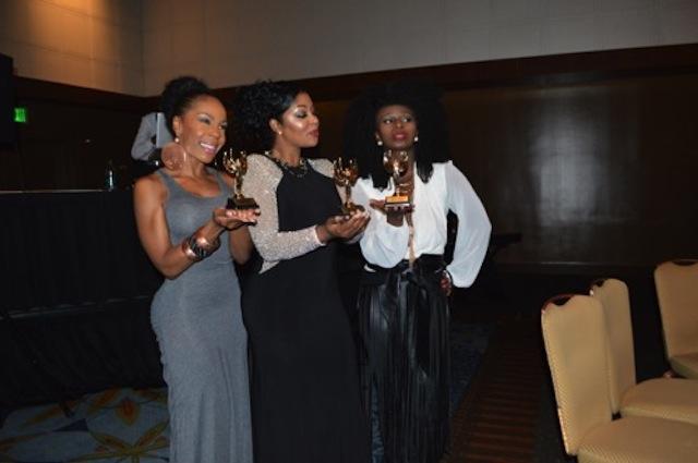 Andrea Kelly, Princess Baton Lofters and Mushiya flaunt their awards