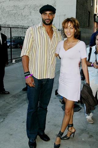Boris Kodjoe and Nicole Parker