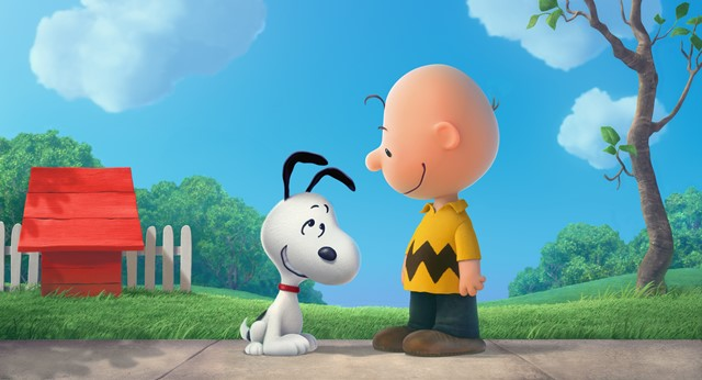 Charlie and his dog Snoppy