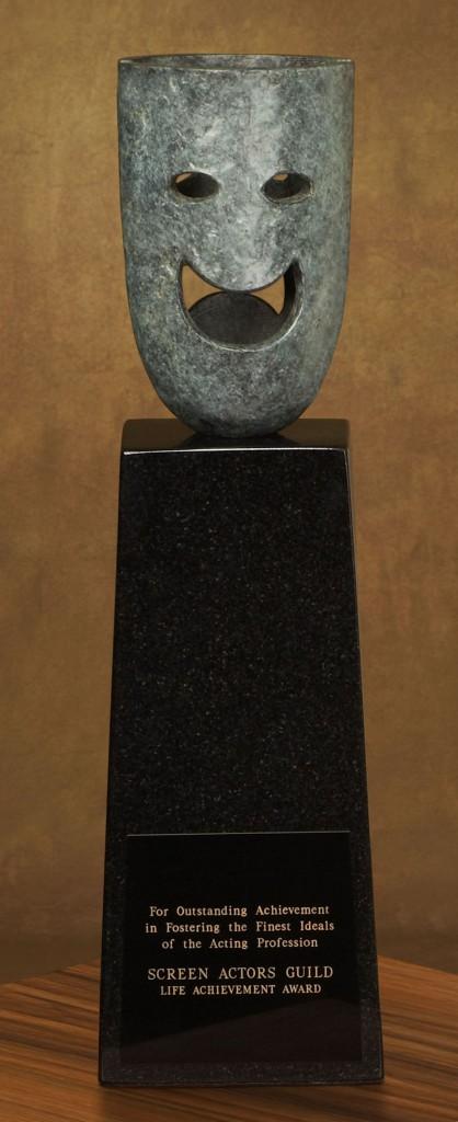The Life Achievement statuette