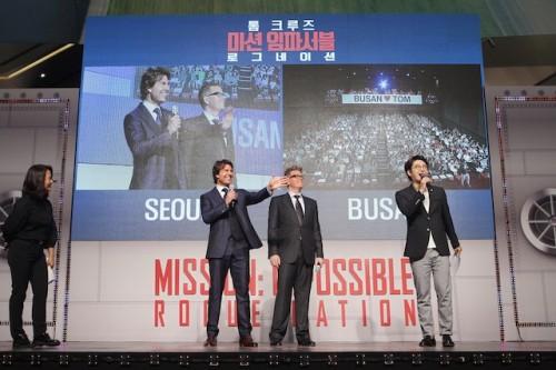 Mission: Impossible - Rogue Nation Korea Premiere