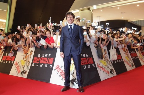 Mission: Impossible - Rogue Nation Korea Premiere