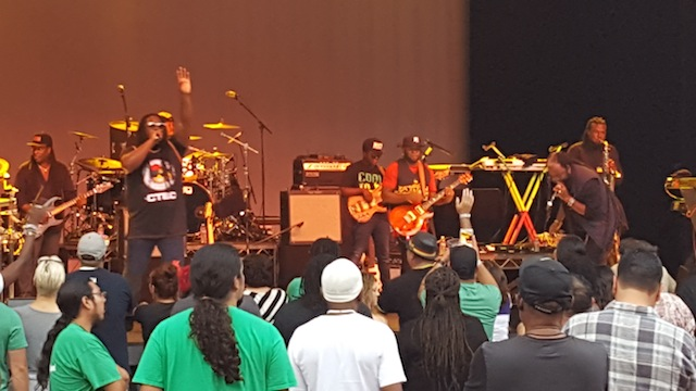 Morgan Heritage's set