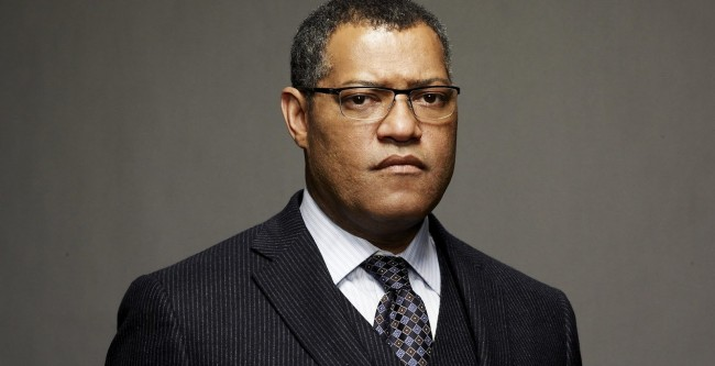 Laurence Fishburne will play Nelson Mandela