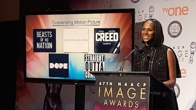Tika Sumpter at the Image Award nomination in California