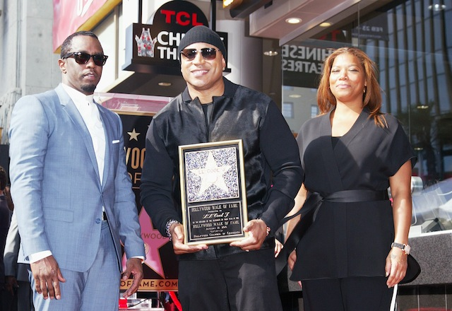 P Diddy, LL Cool J and Queen Latifah