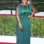 Uzo Aduba on the red carpet