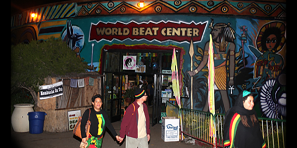 World Beat Center. Photograph by L Johnson © 2015