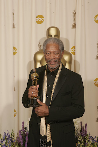 Academy Award winner Morgan Freeman, Best Actor in a Supporting Role.