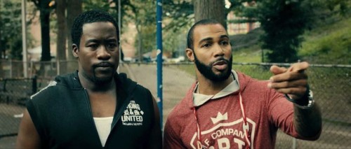 Daniel Beatty and Omari Hardwick star in Chapter & Verse