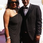 Linell King and partner