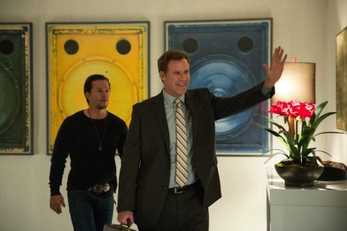 Mark Wahlberg, left, and Will Ferrell play dad and stepdad fighting for kids' affections