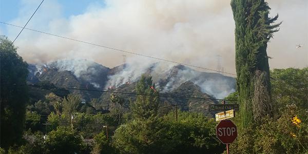 San Gabriel Complex Fire