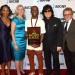 roducer Edward 'LDB' Griffin (C) with (L-R) ASCAP SVP of Membership Nicole George Middleton, ASCAP CEO Beth Matthews, ASCAP EVP of Membership John Titta, and ASCAP President & Chairman Paul Williams