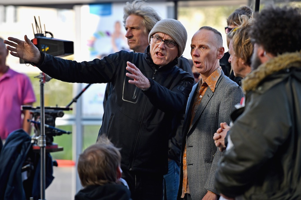 Danny Boyle on set of T2