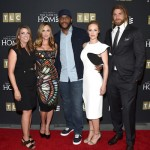 (L-R) President & GM, TLC, Nancy Daniels, actress Kelly Sullivan, creator and producer Tyler Perry, actors Danielle Savre and Brock O'Hurn