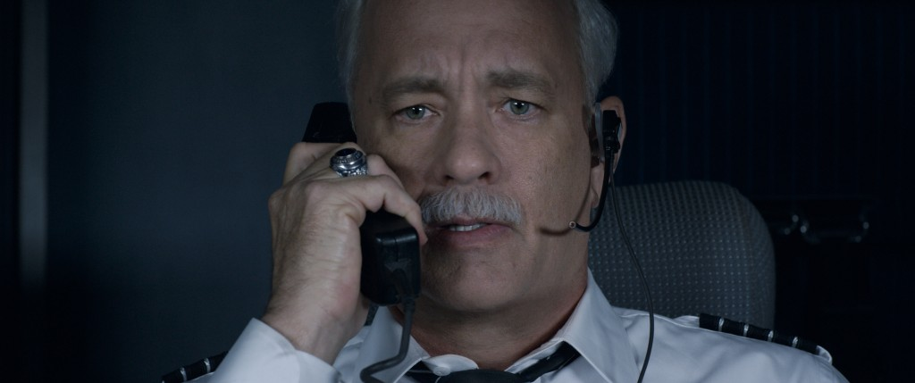 OM HANKS as Chesley Sully Sullenberger