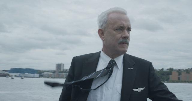 TOM HANKS plays Captain Sullenberger