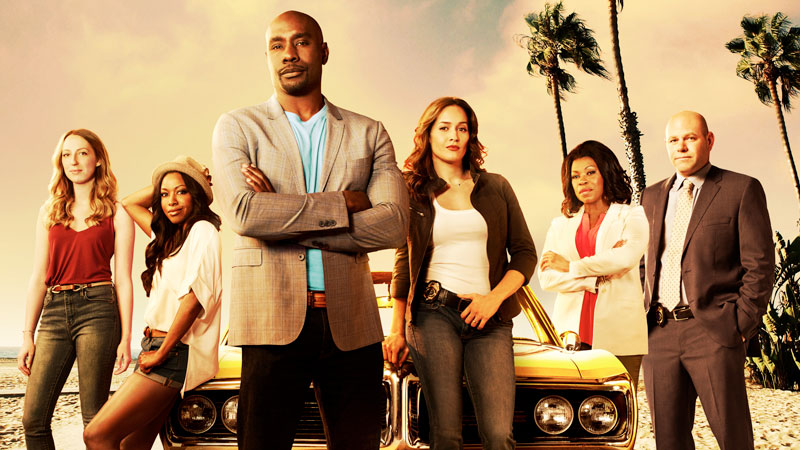 The cast of Rosewood