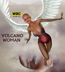 Volcano Woman
