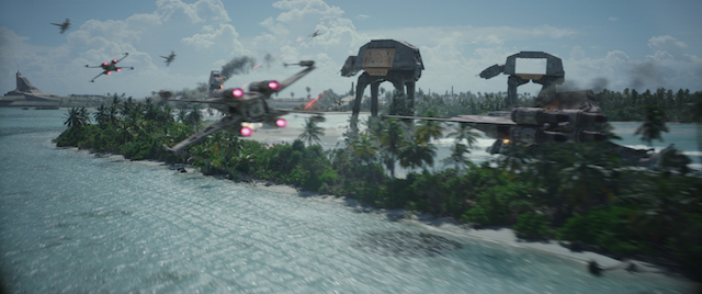 Rogue One has impressive space battles