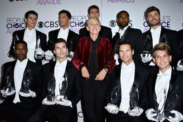 Comedienne Ellen DeGeneres, winner of a record-setting 20 career People's Choice Awards (Photo- WireImage)
