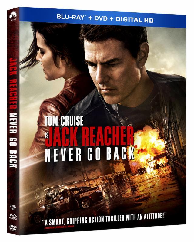 CaribPress » 'Jack Reacher: Never Go Back' releases on DVD