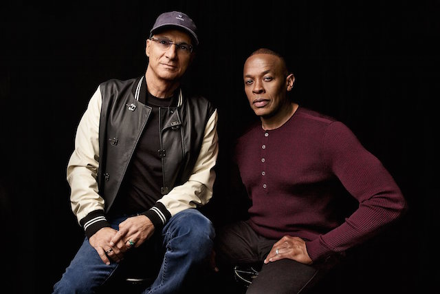 Jimmy Iovine and Dr. Dre are the subjects of HBO's The Defiant Ones