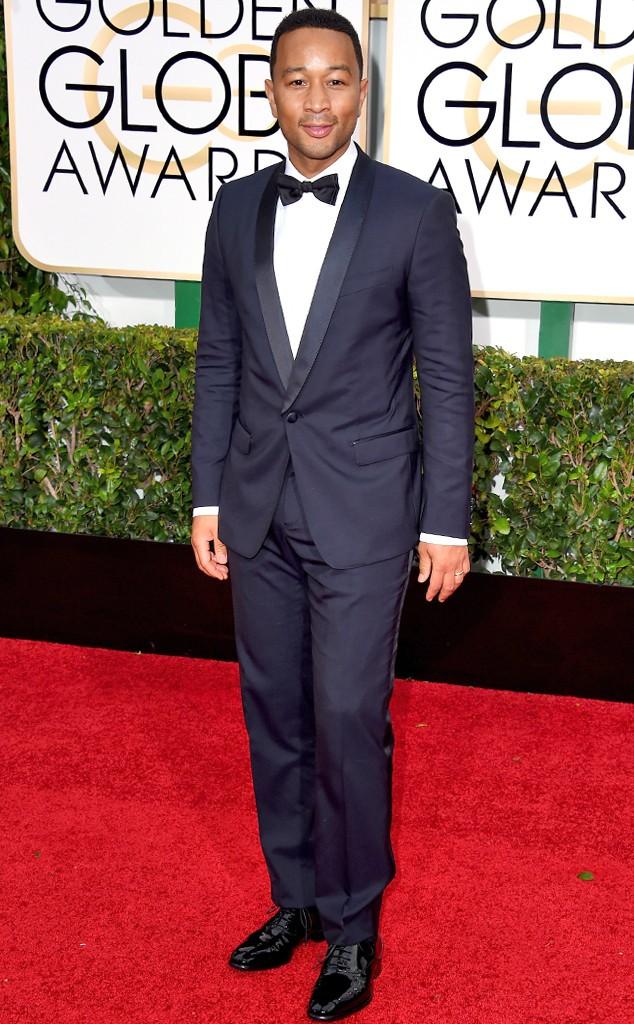 John Legend at the 72nd Golden Globes