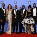 Barry Jenkins. Trevante Rhodes, Naomie Harris, Barry Jenkins, Ashton Sanders, Janelle Monáe, and Mahershala Ali
