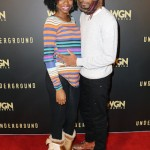 Xosha Roquemore and Lakeith Stanfield