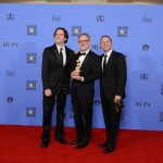 Byron Howard, Rich Moore, and co-director Jared Bush