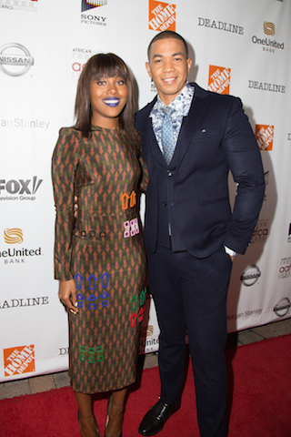 Actors DeWanda Wise and Alano Miller