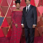 Denzel Washington, Oscar® nominee, and Pauletta Washington