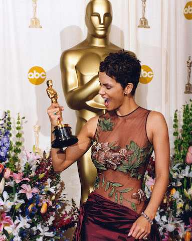 Halle Berry won an Oscar at the 74th Academy Awards