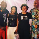 Jimmy Jean-Louis, Monica Calhoun, Nnegest Likké and PAFF co-founder Ayuko Babu