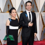 Lin -Manuel Miranda, Oscar® nominee, and mom Luz Towns-Miranda